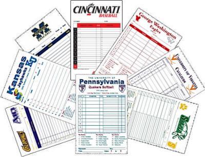 Lineup Cards Custom Made For Baseball Amp Softball Teams